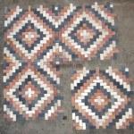 Random square mosaic