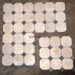 classic patern 10x10 white grey