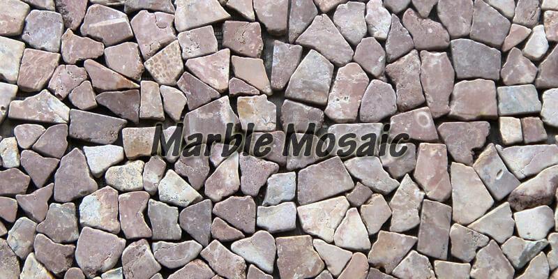menu marble mosaic